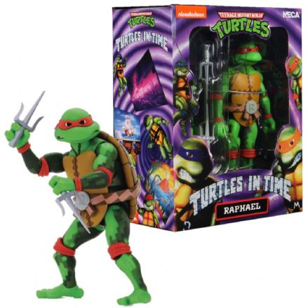 "NECA TMNT Turtles in Time 7"" Action Figure - Raphael"